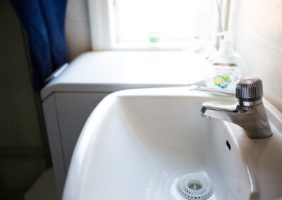 Tvättstället i stora stugan
